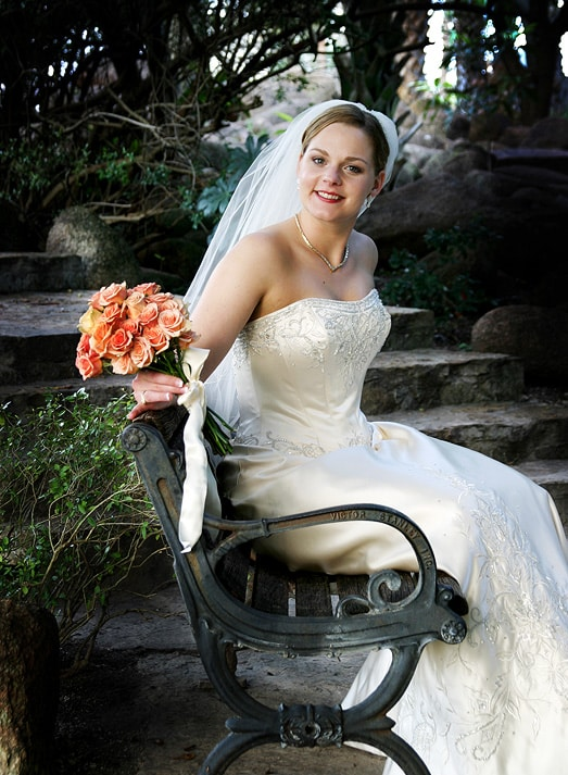 Bridal Portrait Outdoor Portrait Area On Location San Antonio TX