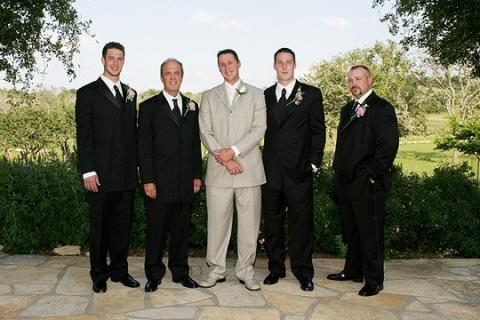 Groom formal with groomsmen