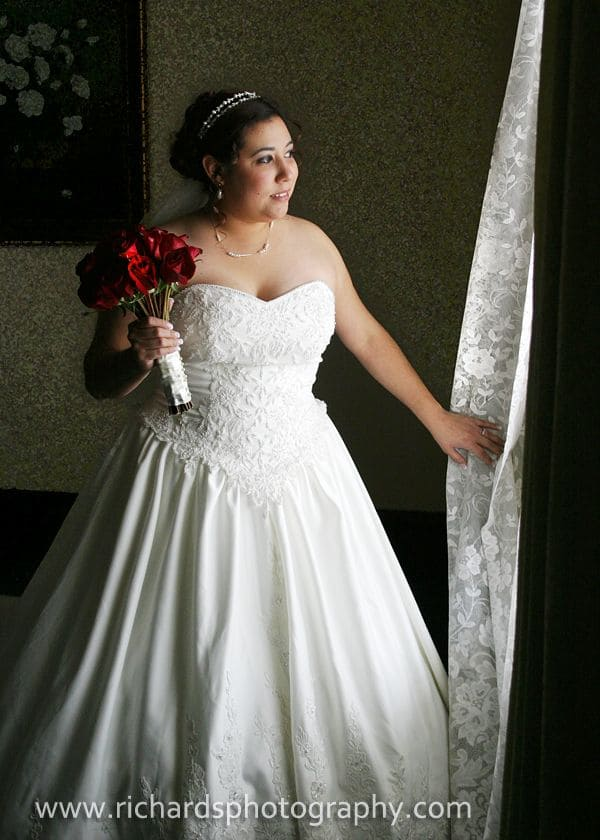 Bride Portrait Window Light