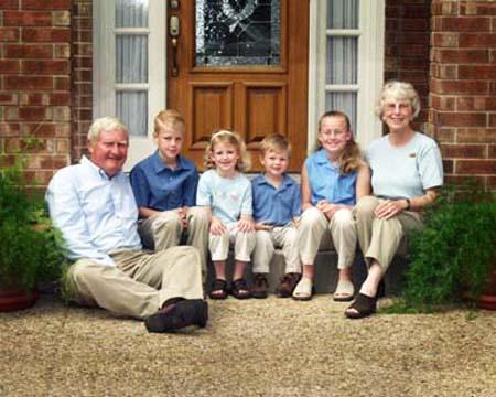family portraits san antonio tx grand kids with grandparents