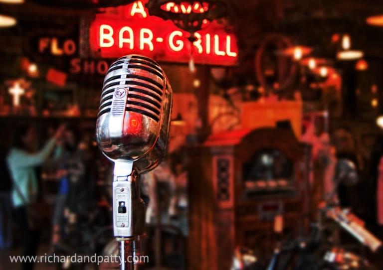 Antique Microphone Art