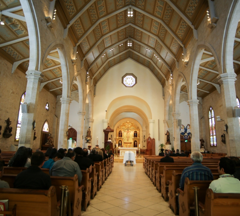 Funeral Photography Church San Fernando Cathedral San Antonio Texas