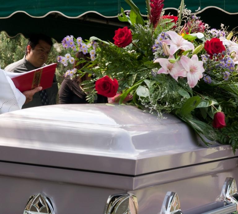 funeral memorial at cemetery San Antonio texas