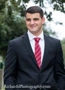senior portraits formal suit and tie san antonio