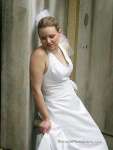 Bride at wedding san antonio texas