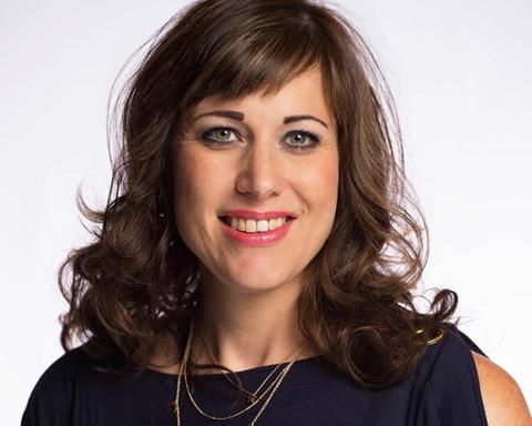 horizontal headshot of business woman on white background San Antonio