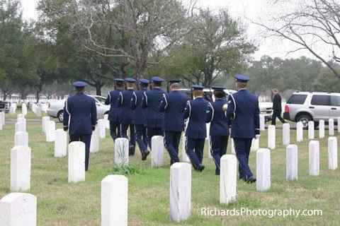 military funeral photography san antonio texas