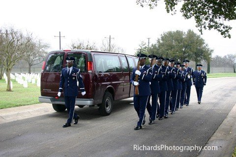 military funeral photography service fort sam houston