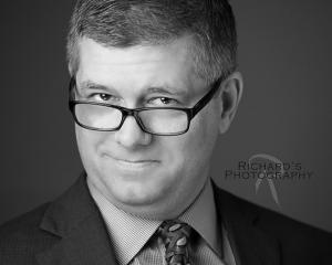 Black and White Headshots For Business San Antonio