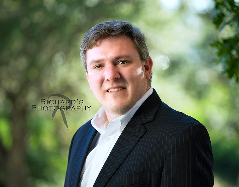 environmental photography session of business man san antonio texas