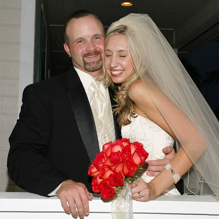 wedding bride and groom laughing san antonio