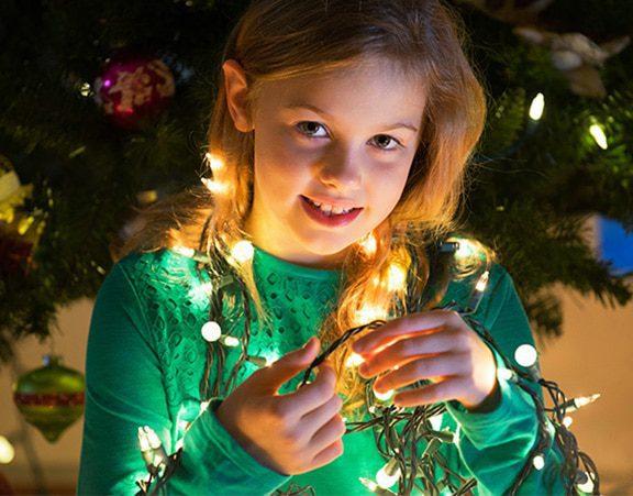 Christmas portrait girl_pp