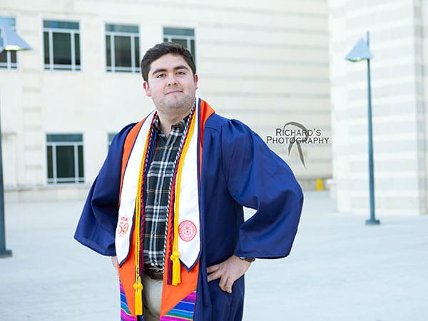 boy-student-graduation-portrait-UTSA-campus