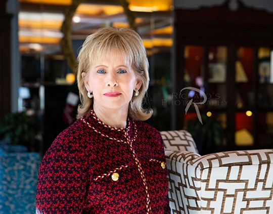 woman portrait lawyer san antonio menger hotel