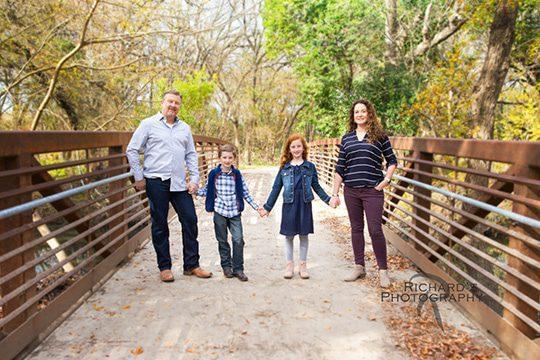 family portraits san antonio texas on location local park area