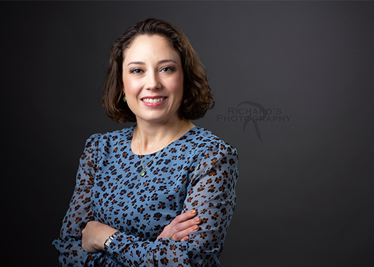 woman professional headshot photography Linkedin attorney san antonio