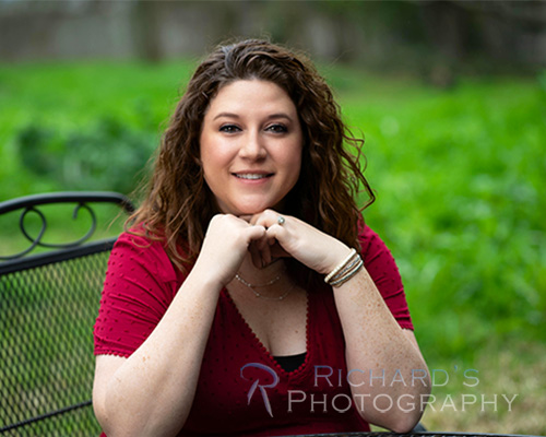 branding headshot outdoor photography san antonio woman