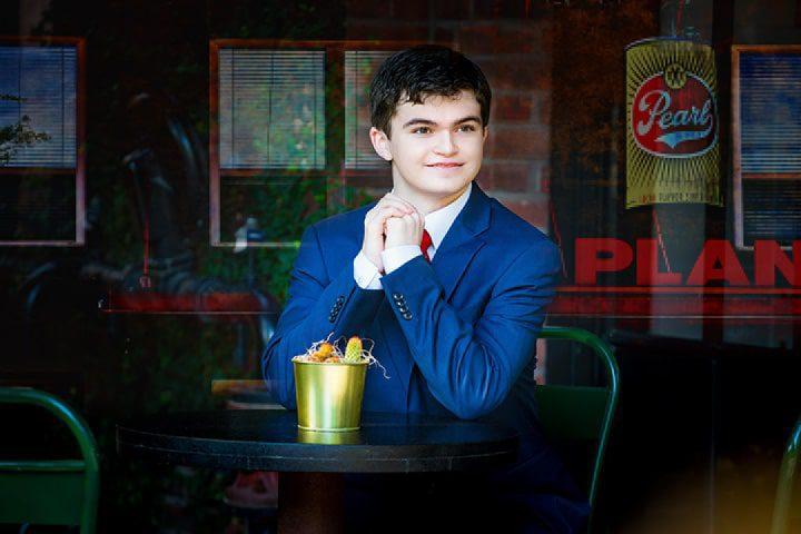 pearl brewery graduation picture boy san antonio tx