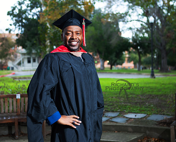 graduation pictures cap and gown university incarnate word san antonio