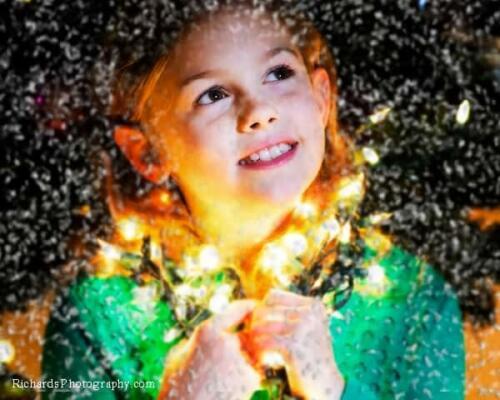 Children's Christmas Portrait Photography San Antonio TX