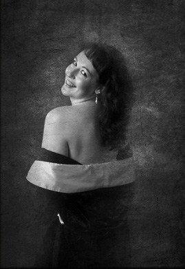 black and white photography boudoir