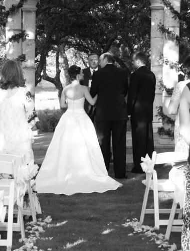 Wedding Photography Black and White Portrait San Antonio Texas