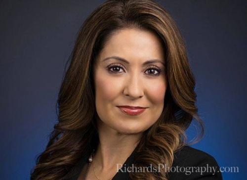 woman with brown hair real estate agent portrait san antonio