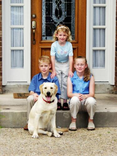 children's photography with Pet