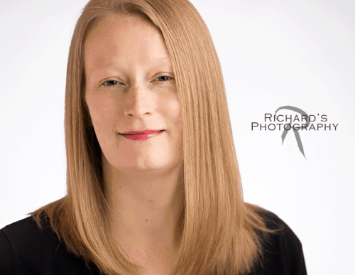 Headshot Professional Business Woman Blonde Hair