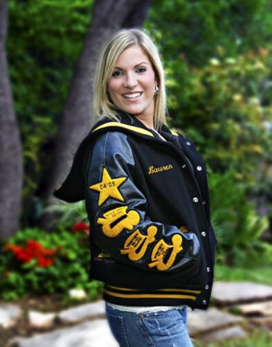 High school letter jacket east central high school