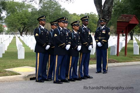 military funeral photography san antonio texas