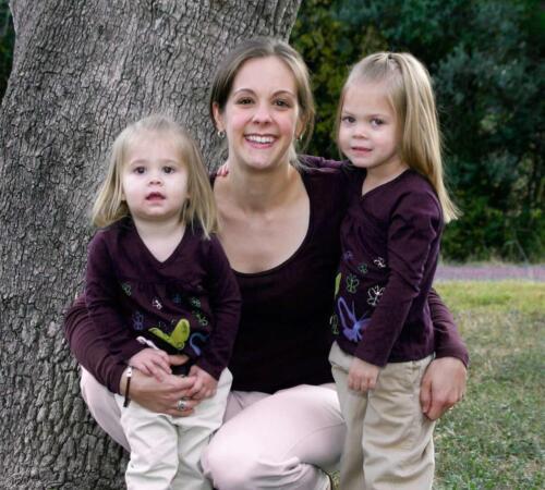 Mother Daughters Professional Portraits Outdoor Location San Antonio