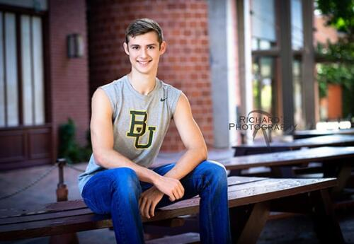 Pearl Brewery Senior Portraits Boy Clark High School