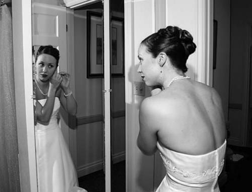 wedding couple photography black and white
