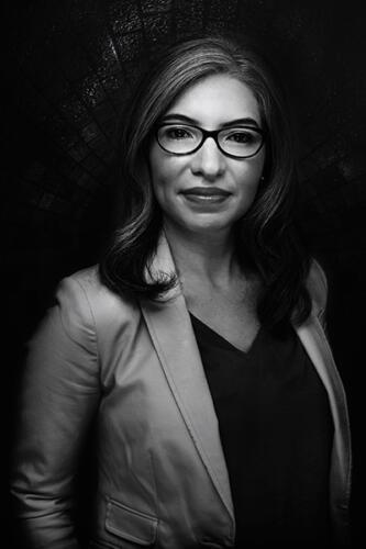 black and white portrait composite san antonio