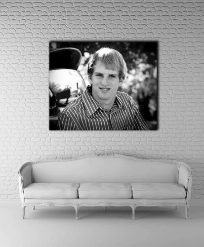 senior portrait black and white san antonio