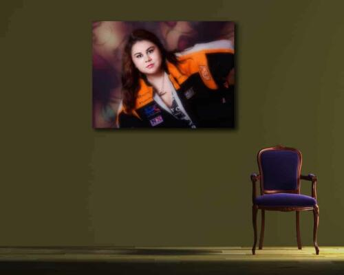 senior portrait girl wearing jacket san antonio texas