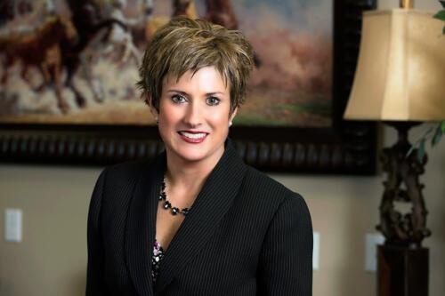portrait of business woman in office on location san antonio texas
