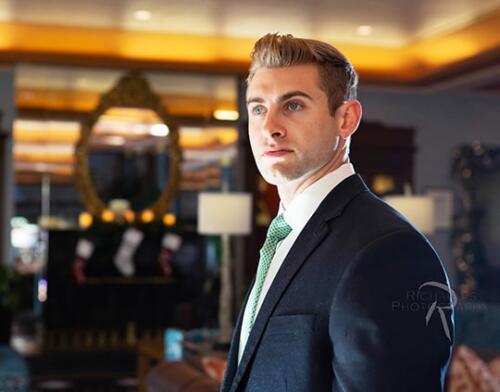 men's professional business portrait menger hotel san antonio