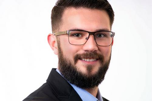 Mens Headshot Beard and Glasses Business San Antonio Texas
