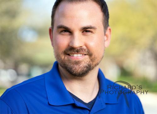 outdoor business photography man blue shirt san antonio tx