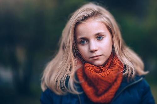 child photography outdoor san antonio girl blonde hair