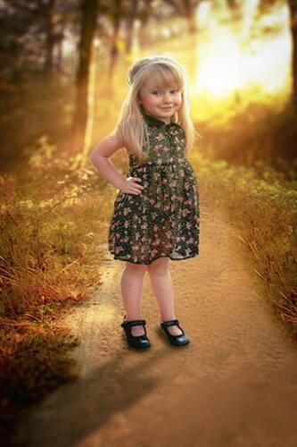 childrens portrait photography outdoors san antonio texas