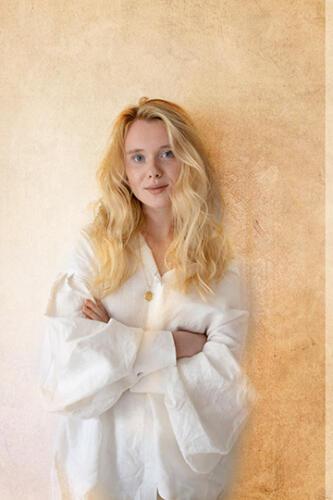 female portrait in studio san antonio