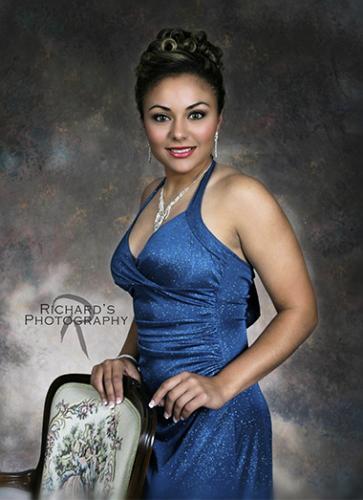 formal prom dress portrait girl san antonio