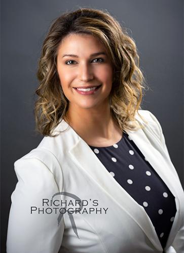 headshot woman medical field san antonio