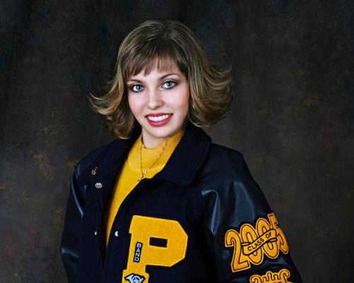 letter-jacket-yellow-girl-graduation-portrait-san-antonio