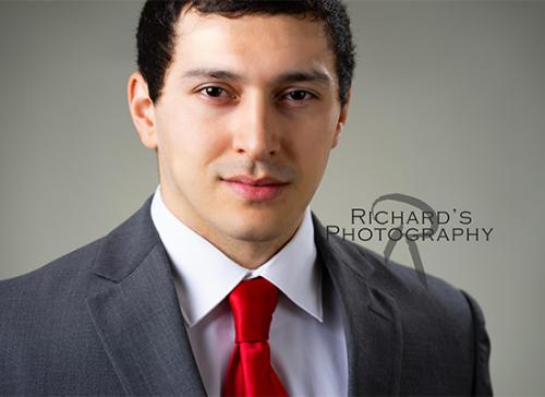 professional business man headshot in san antonio
