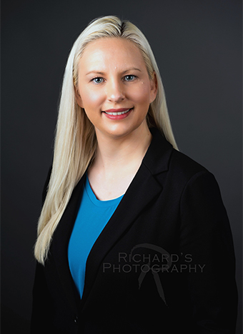 professional headshot for woman medical service san antonio