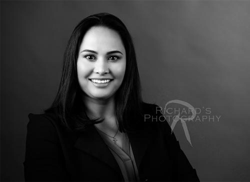 real estate agent headshot black and white photography woman san antonio copy